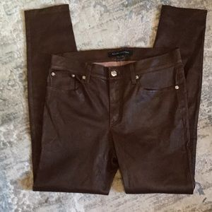 Ralph Lauren Black Label lamb leather pants